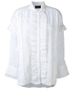 The Kooples | English Embroidery Ruffled Shirt