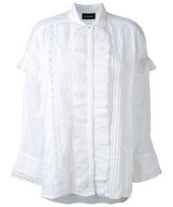 The Kooples | Рубашка С Вышивкой И Оборкой