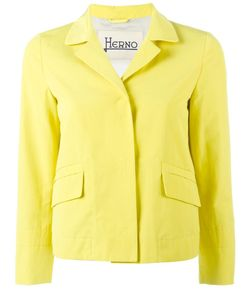 Herno | Buttoned Blazer 44 Cotton/Polyester/Polyethylene/Acetate