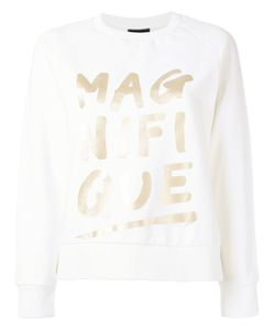 Emporio Armani | Magnifique High Shine Print Sweatshirt 44