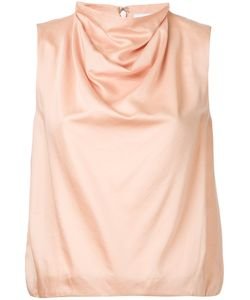 08SIRCUS | Draped Neck Top