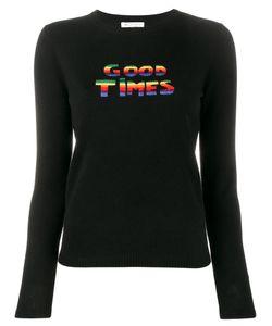Bella Freud   Good Times Sweater Large Wool/Cashmere/Metal/Nylon