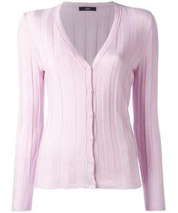 Steffen Schraut   Luxury Ribbed Cardigan 34 Polyester/Viscose/Cashmere/Polyamide
