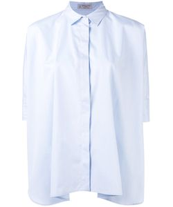Alberto Biani | Short Sleeve Blouse 42 Cotton