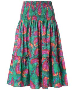 Isolda | Printed Midi Skirt