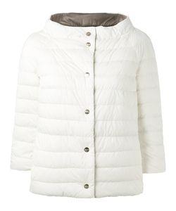 Herno | Reversible Puffer Jacket 40 Feather Down/Polyamide/Polyurethane