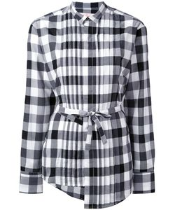 A.F.Vandevorst | Checked Drawstring Shirt