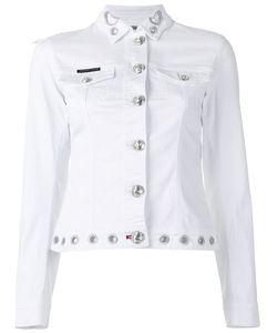 Philipp Plein | Embroidered Denim Jacket Medium