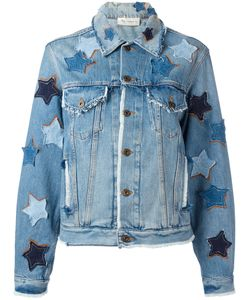 Faith Connexion | Star Patches Denim Jacket Xs Cotton