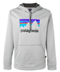 Patagonia | Logo Print Hoodie Men S
