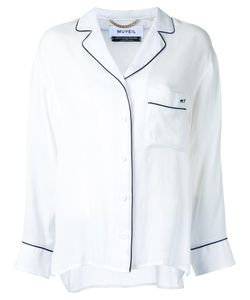 Muveil | Chest Pocket Shirt 38 Rayon/Polyester