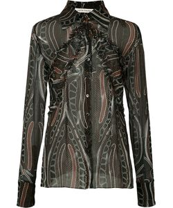 Sophie Theallet | Printed Sheer Shirt Size