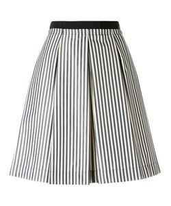Moncler | Striped Full Skirt 42