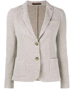 Eleventy | Two Button Blazer 40 Cotton/Polyamide/Acetate/Viscose