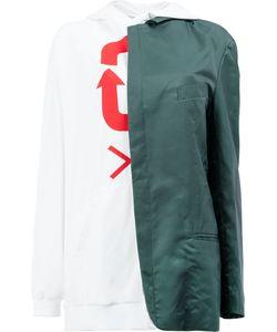 MOOHONG | Blazer Detail Hoodie Size