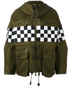 Dsquared2 | Checkboard Mini Parka Jacket Size 36