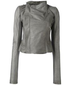 Rick Owens | Classic Biker Jacket 44 Lamb Skin/Wool