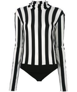 Nina Ricci | High Neck Striped Bodysuit