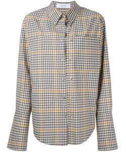 Irene | Flared Sleeve Checked Shirt