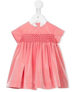 LITTLE BEAR | Smocked A-Line Dress Infant 9 Mth
