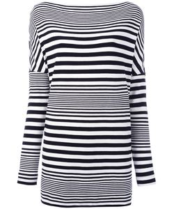 I'm Isola Marras   Striped Top Medium Viscose/Spandex/Elastane