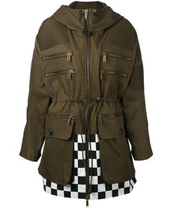 Dsquared2 | Checkered Detail Parka 40