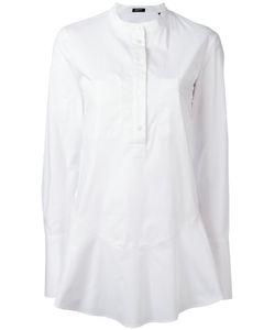Jil Sander Navy | Fla Hem Shirt 36 Cotton/Spandex/Elastane