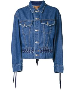 G.V.G.V. | Denim Lace-Up Jacket 34 Cotton