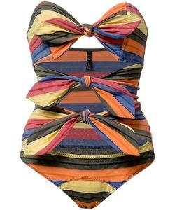 Lisa Marie Fernandez   Tripple Poppy Maillot Swimsuit Ii Nylon/Spandex/Elastane