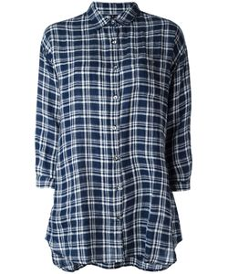 Woolrich | Checked Shirt Medium Linen/Flax