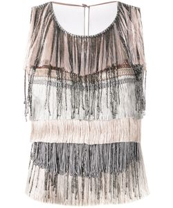 Alberta Ferretti | Fringed Top