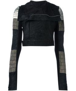 Rick Owens | Glitter Biker Jacket 40 Lamb Skin/Virgin
