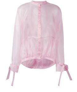 Antonio Berardi | Sheer Shirt 48 Silk