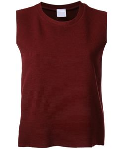 Cityshop | Crew Neck Tank Top Acrylic/Nylon/Wool/Polyurethane