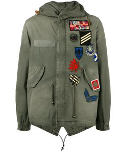 MR & MRS Italy | Multipatch Military Coat Small