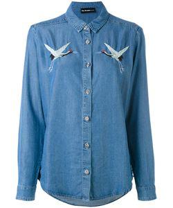 The Kooples | Birds Embroideries Denim Shirt