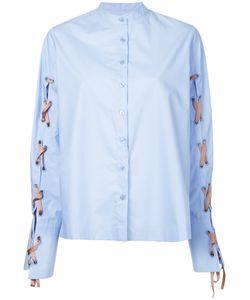 Elaidi | Lace-Up Detail Shirt Size 38