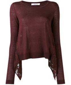 Dorothee Schumacher | Poetic Hemisphere Knitted Blouse 4 Silk/Linen/Flax