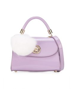 Young Versace | Pom Pom Charm Shoulder Bag