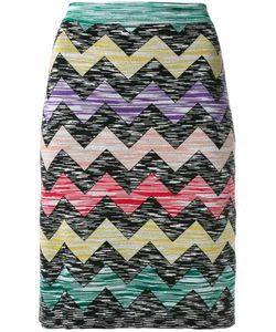 Missoni | Zigzag Print Straight Skirt Size