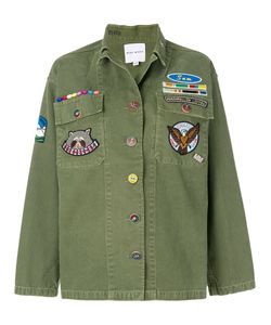 Mira Mikati | Patch Detail Military Jacket Women