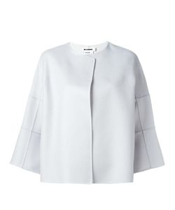 Jil Sander | Three-Quarters Boxy Jacket 34 Cashmere
