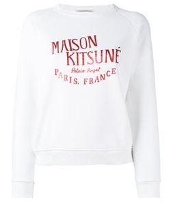 Maison Kitsune   Maison Kitsuné Brand Print Sweatshirt