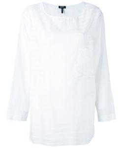 Jil Sander Navy | Light Stripe Long Sleeve Top Size 36