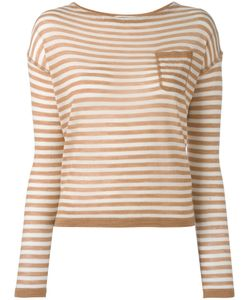 Barena | Striped Knitted Blouse Medium Virgin Wool/Silk/Cashmere