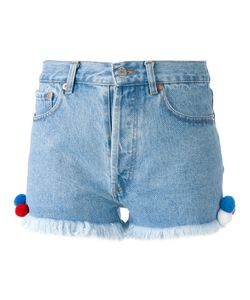 FORTE COUTURE | Frayed Hem Shorts