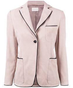 L' Autre Chose | Lautre Chose Pipin Blazer 40 Lamb Nubuck Leather