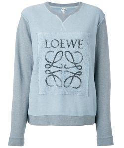 Loewe   Logo-Print Panelled Sweatshirt M