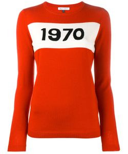 Bella Freud   1970 Intarsia Sweater Small Wool