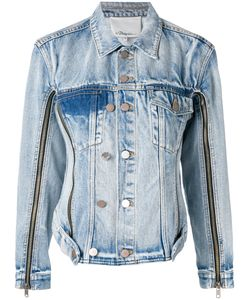 3.1 Phillip Lim | Zip Sleeve Denim Jacket